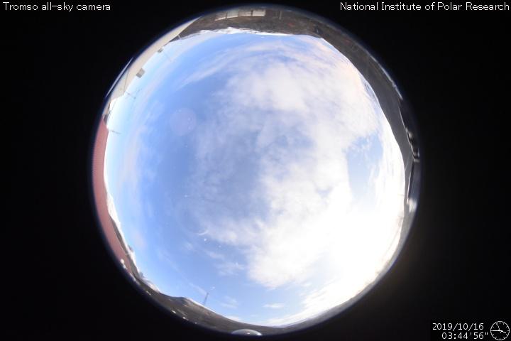 Northern Lights sky camera Tromsø